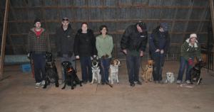 Class In The Barn